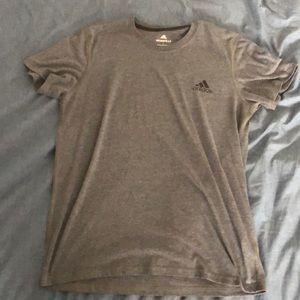Large Gray Adidas Athletic Shirt!